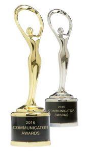 2016 Communicator Awards - Silver & Gold