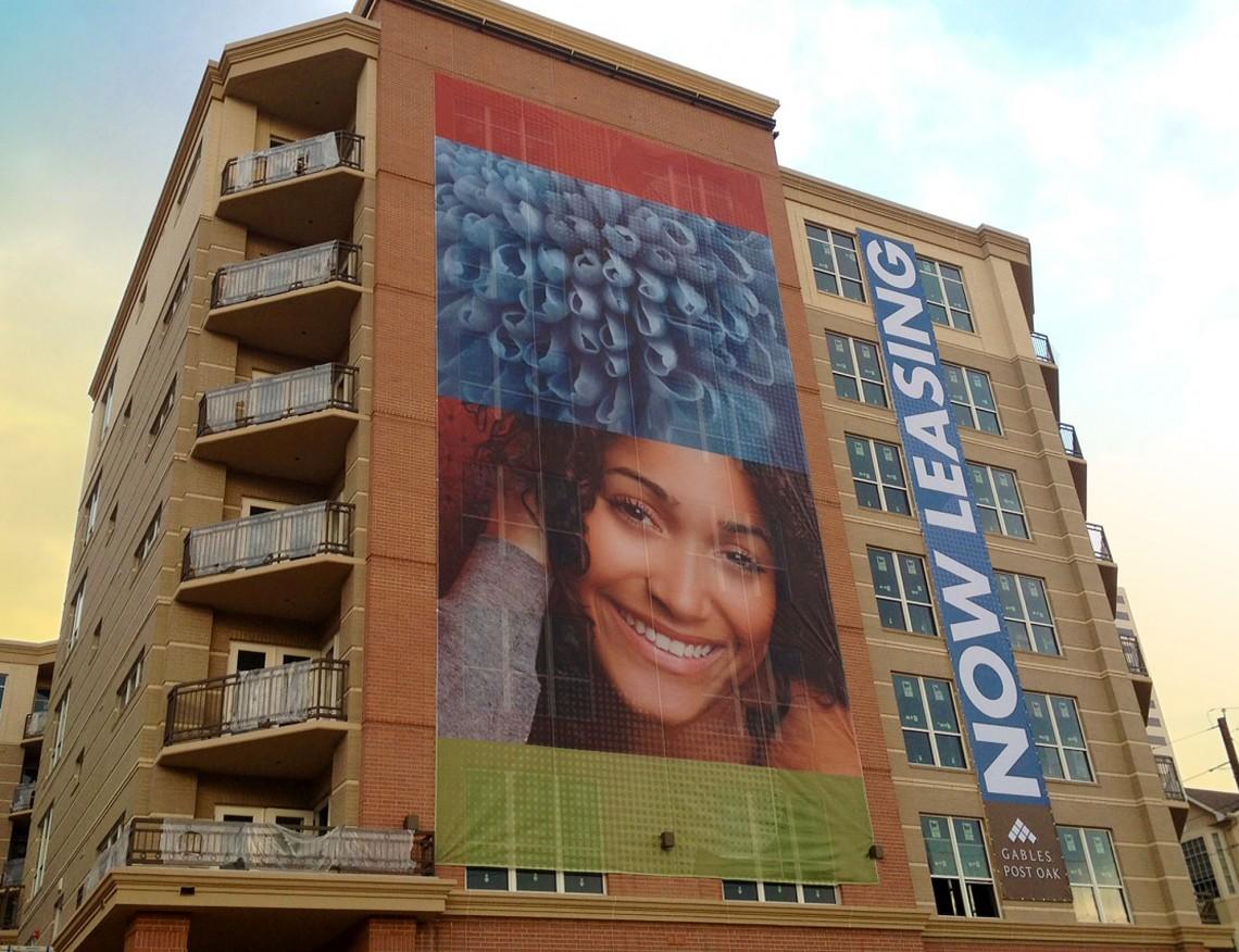 Post Oak Apartments Building Banners