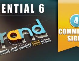 Essential 6: Community Signs