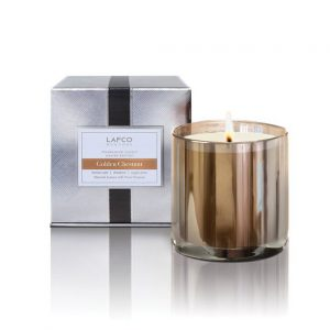 Golden Chestnut Classic Candle by Lafco